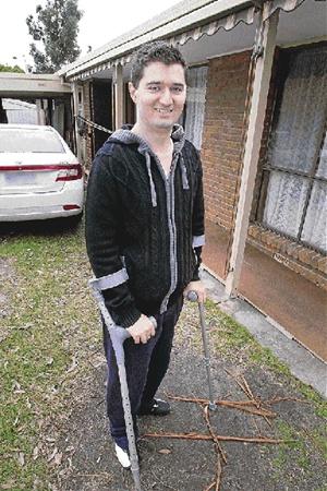 Escaping quadriplegia: tackling life step by step