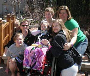 Young accident victim continues journey to recovery