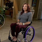 Olympic Swimmer Amy Van Dyken Determined to Walk Again