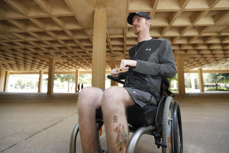 Man shares experience as quadriplegic