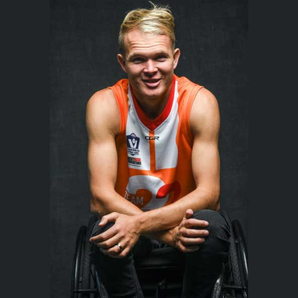 Beau Vernon became a quadriplegic at 23. He has since coached two country teams to flags
