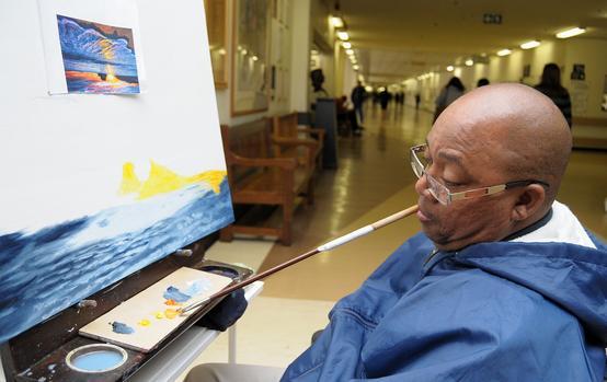 Quadriplegic is living a full life