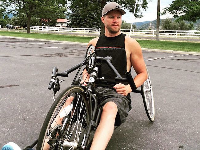 Five Years After Being Paralyzed from the Chest Down, Dustin Shillcox Completes the New York Marathon