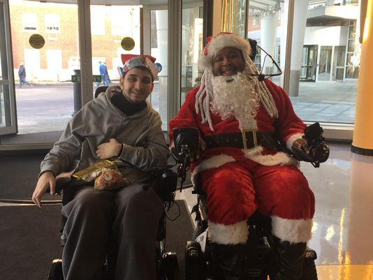 LeGrand and Nichols inspire spinal cord patients together