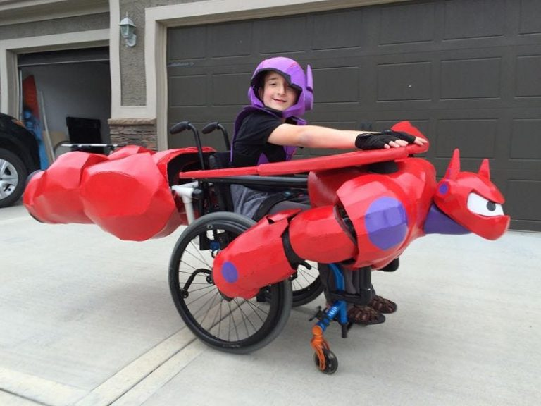 Kansas man creating custom Halloween costumes for kids in wheelchairs