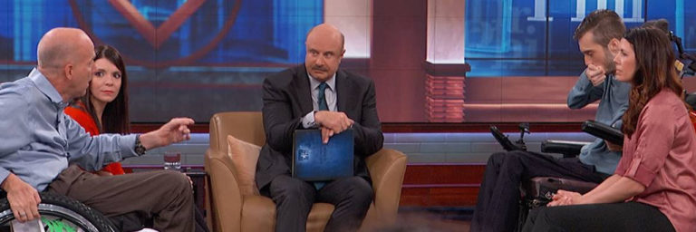 Interabled Couples Criticize Dr. Phil for Saying You Can Be a Lover or Caregiver, Not Both