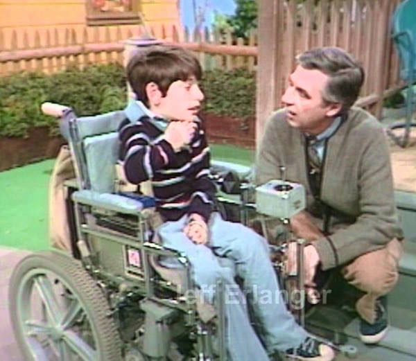 Mister Rogers Tv Hall Of Fame Special Appearance By Jeff Erlanger 1999 Videos Spinal Cord Injury Zone