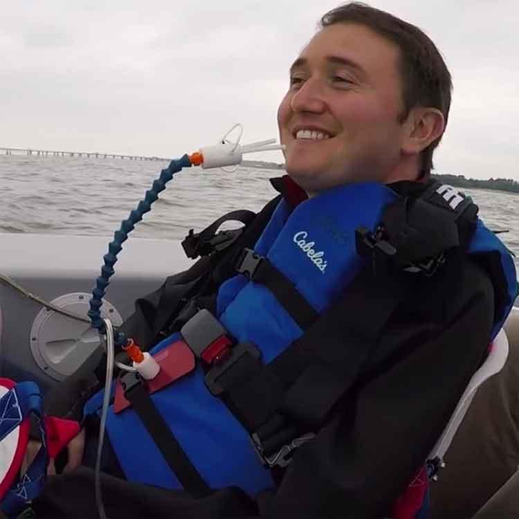 Josh Basile Quadriplegic Accessible Boating