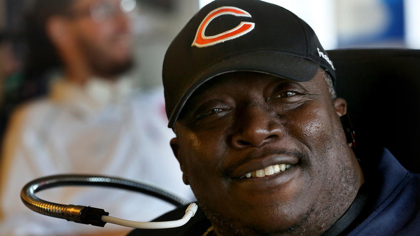 Kenneth Jennings was paralyzed in a football accident