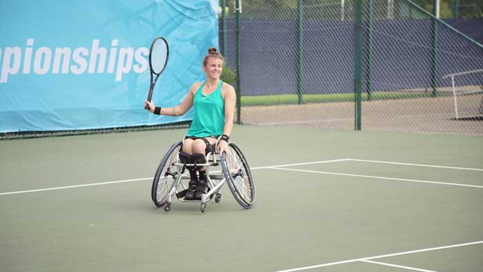 LIVING THE DREAM How I became a wheelchair tennis star after I was paralysed when I broke back climbing a tree aged 13