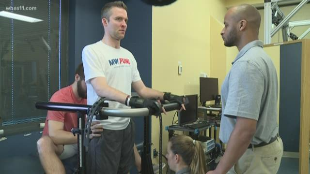 How UofL spinal cord study is helping one man make strides back to full independence