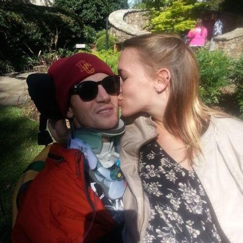 quadriplegic swimmer leans on love to push forward news