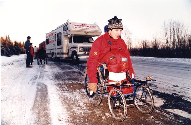 March 6, 1987: Rick Hansen wheels into city hearts