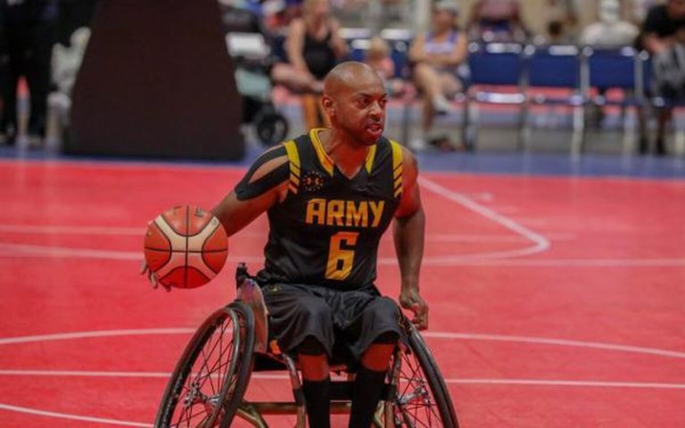 If you want to be inspired, check out the Warrior Games