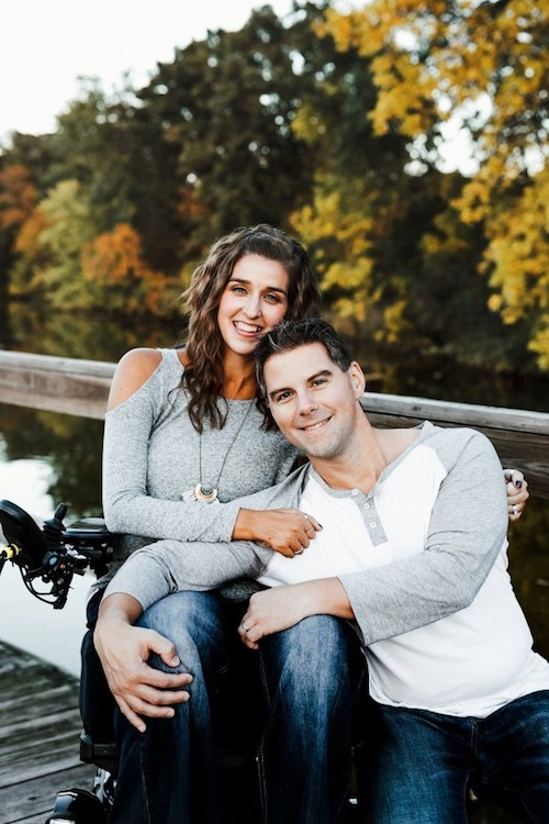 Twenty years after paralyzing fall, Tasha Schuh's life is an open book