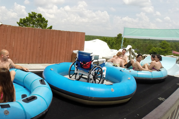 Pool Wheelchairs Go Down Teamboat Springs At Disney Water Parks Featured Information Spinal Cord Injury Zone
