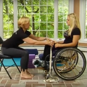 How-To: Yoga Poses from Your Wheelchair