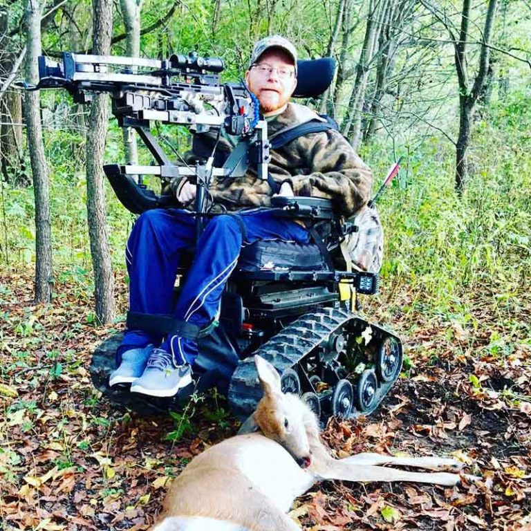 Accessible Hunter creator inspires others to get back into the woods