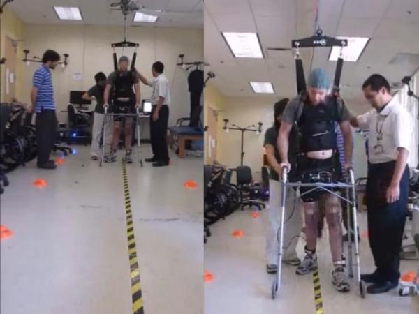 Without An Exoskeleton, Paralyzed Man Uses Brain Control To Walk