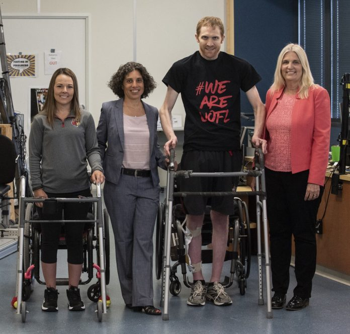 UofL research helps spinal cord injury patients take steps