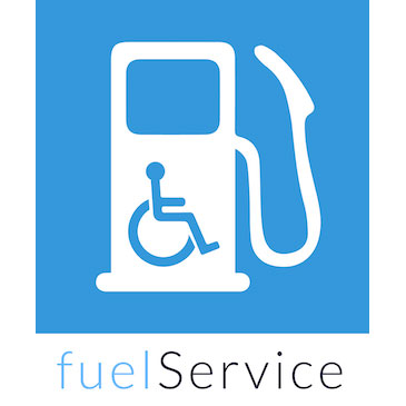 App helps drivers in wheelchairs get help at the gas pump