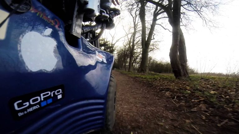 GoPro: Wheels into the Woods!