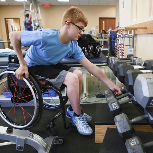 Program teaches paralyzed how to walk – again
