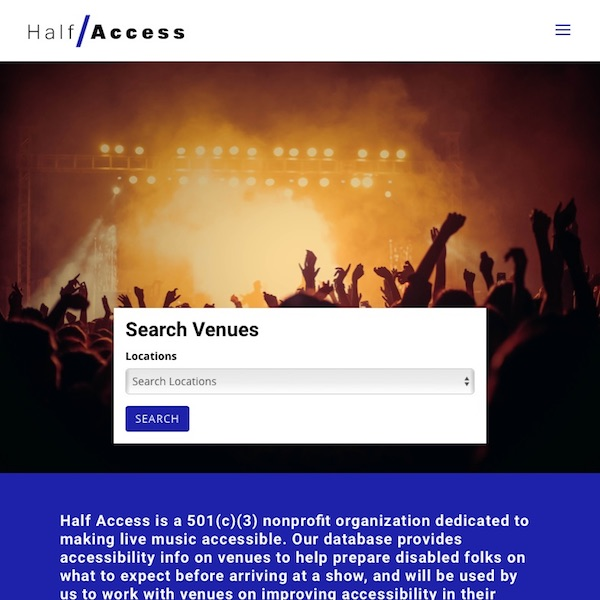 Half Access – Making Live Music Accessible