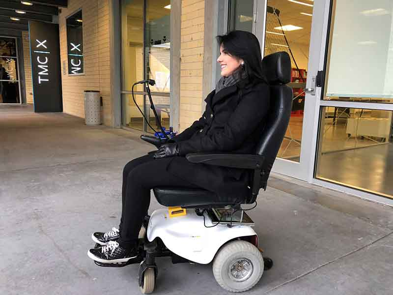 Hoobox Launches First Wheelchair Controlled By Facial