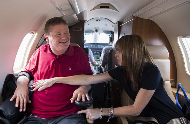 Welcome to the hectic lifestyle of IndyCar team owner and quadriplegic Sam Schmidt