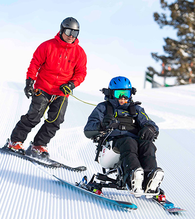 The World's Only Independent Alpine Ski for Complex Disabilities