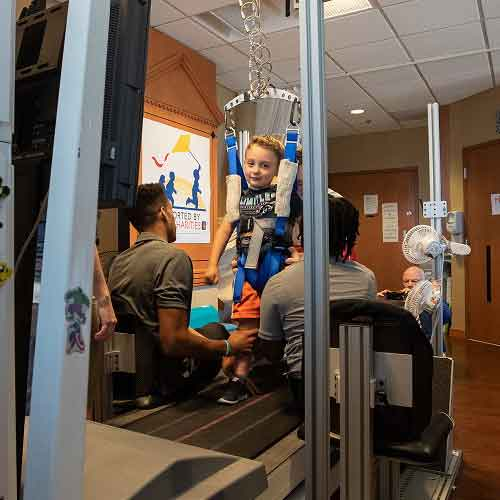 UofL faculty develop and license specialized treadmill for children with spinal cord injuries