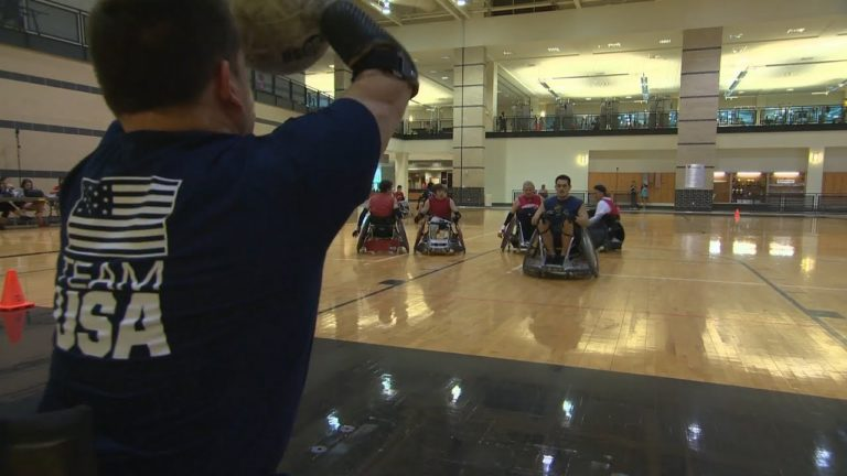 UH Study: Wheelchair Rugby Lowers Depression and Stress in Spinal Cord Injury Patients