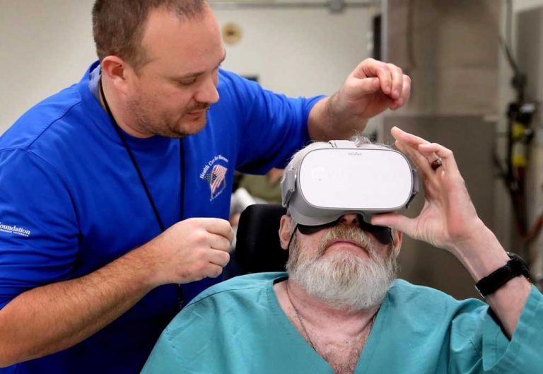 Skydiving, kayaking, fly fishing: Virtual reality therapy is taking paralyzed veterans to new places