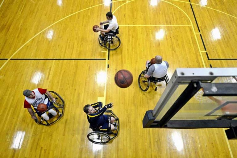 Ten interesting things you may not know about wheelchair basketball
