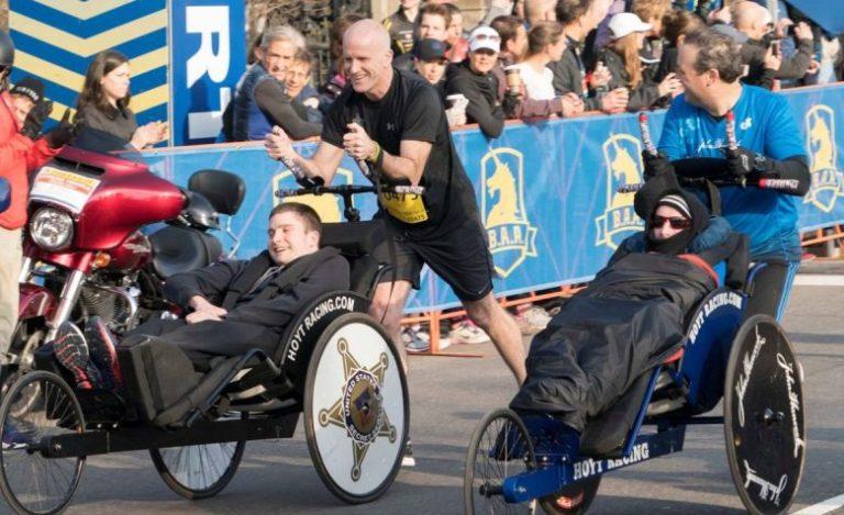 Paralyzed Secret Service agent ready for first Boston Marathon